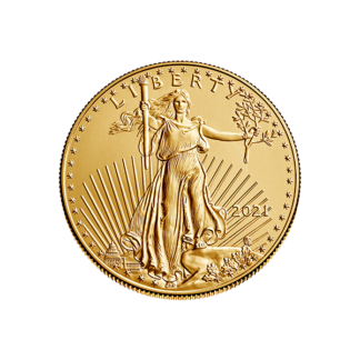 2021 1/4 oz. American Gold Eagle - Type I Reverse (BU)
