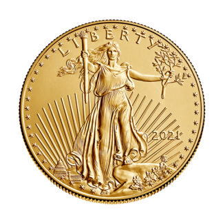 2021 1/2 oz. American Gold Eagle - Type 1 Reverse (BU)