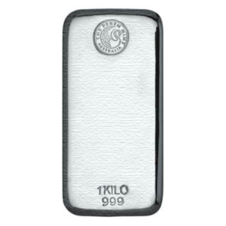 Kilo Perth Mint Silver Bar