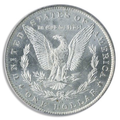 $1 Morgan MS63 Certified (Dates/Mints Vary)