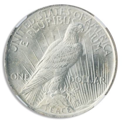 $1 Peace MS64 Certified (Dates/Mints Vary)