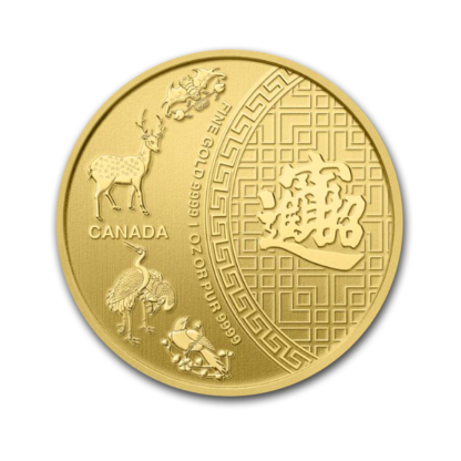 1 Oz Gold Coin Five Blessing (BU)